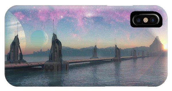 Bifrost Bridge IPhone Case