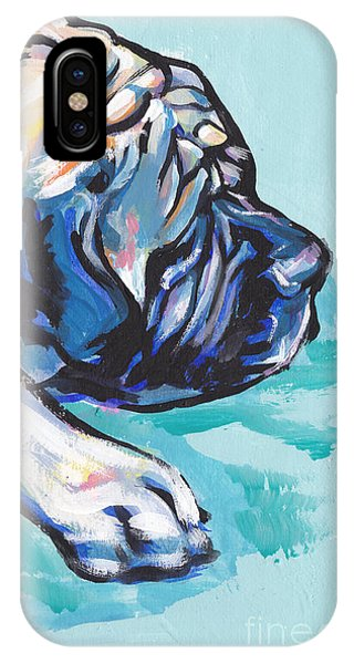 Mastiff iPhone Case - Big And Sweet by Lea S