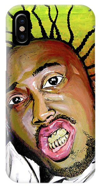 IPhone Case featuring the painting Big Baby Jesus by eVol i