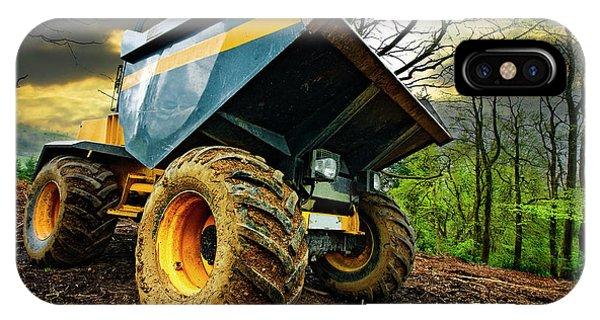 Big Bad Dumper Truck IPhone Case