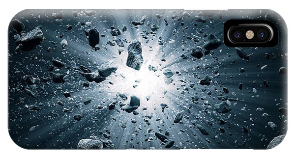 Inside iPhone Case - Big Bang Explosion In Space by Johan Swanepoel