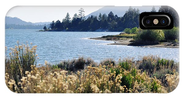 Big Bear Lake Shoreline IPhone Case