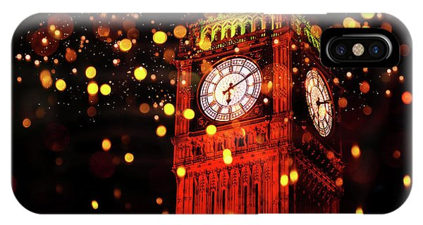 Big Ben Aglow IPhone Case
