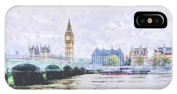 Big Ben And Westminster Bridge London England IPhone Case