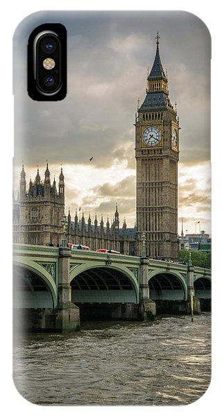 Big Ben At Sunset IPhone Case