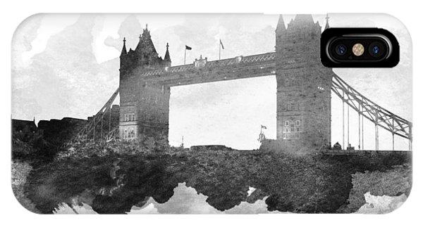 London Eye iPhone Case - Big Ben London 11 by Aged Pixel