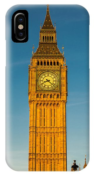 Big Ben Tower Golden Hour London IPhone Case