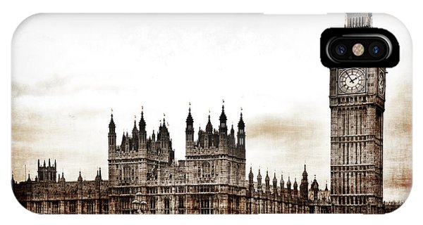 Big Bend And The Palace Of Westminster IPhone Case