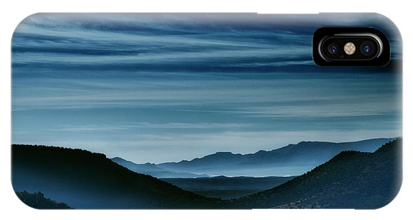 Big Bend At Dusk IPhone Case