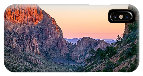 Big Bend Dawn IPhone Case