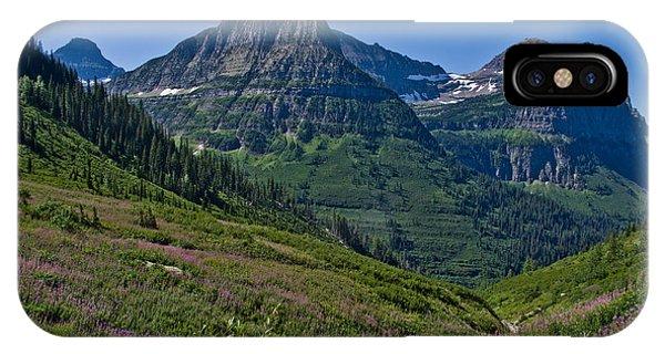 Big Bend, Glacier National Park IPhone Case