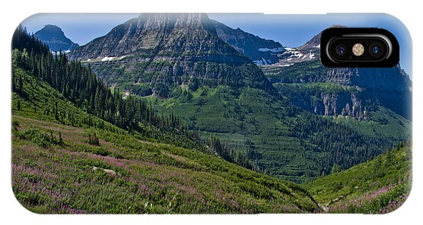 Big Bend, Glacier National Park IPhone Case