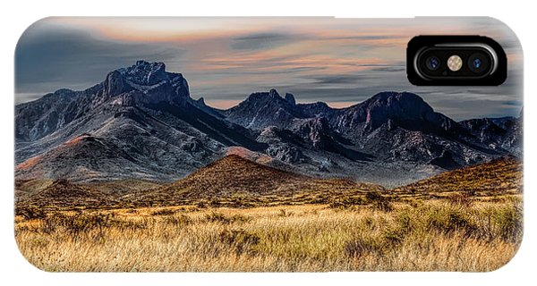 Big Bend Hill Tops IPhone Case