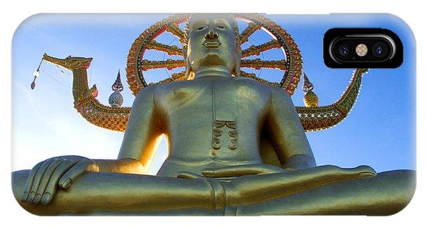 Big Buddha At Koh Samui IPhone Case