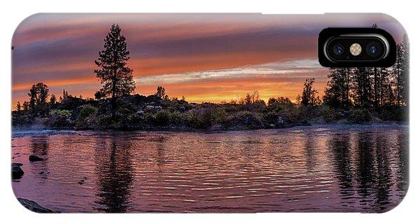 Big Eddy Sunrise IPhone Case