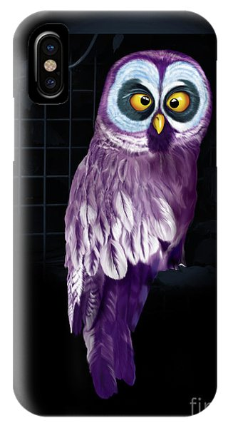 Big Eyed Owl IPhone Case