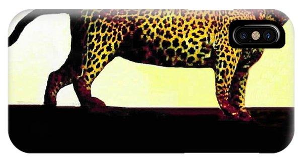 Big Game Africa - Leopard IPhone Case