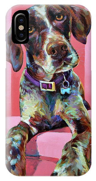 Big Hank, The German Short-haired Pointer IPhone Case
