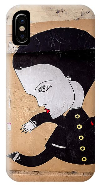 Big Head On Rue Chapon IPhone Case