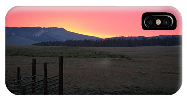Big Horn Sunrise IPhone Case