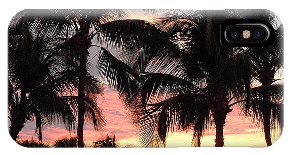 Big Island Sunset 1 IPhone Case