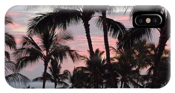 Big Island Sunset 2 IPhone Case