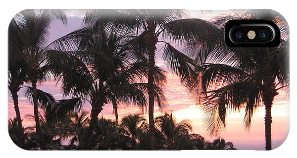 Big Island Sunset 3 IPhone Case