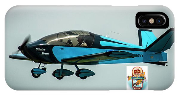 Big Muddy Air Race Number 100 IPhone Case