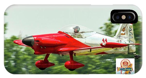 Big Muddy Air Race Number 11 IPhone Case