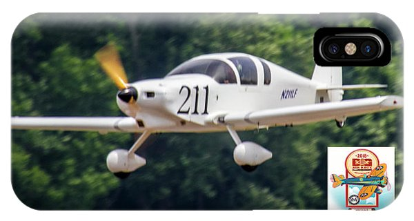 Big Muddy Air Race Number 211 IPhone Case