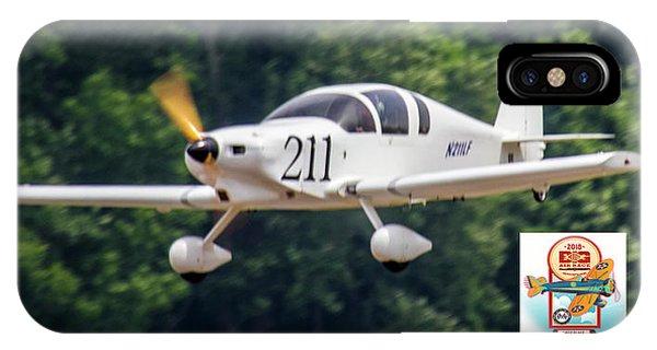 Big Muddy Air Race Number 390 IPhone Case