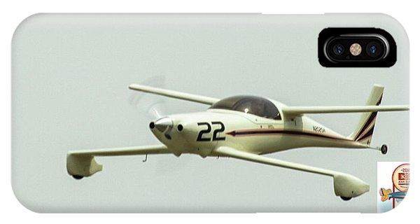 Big Muddy Air Race Number 22 IPhone Case