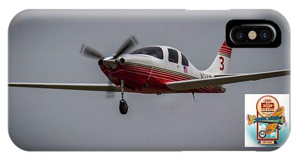 Big Muddy Air Race Number 3 IPhone Case
