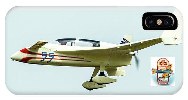 Big Muddy Air Race Number 55 IPhone Case