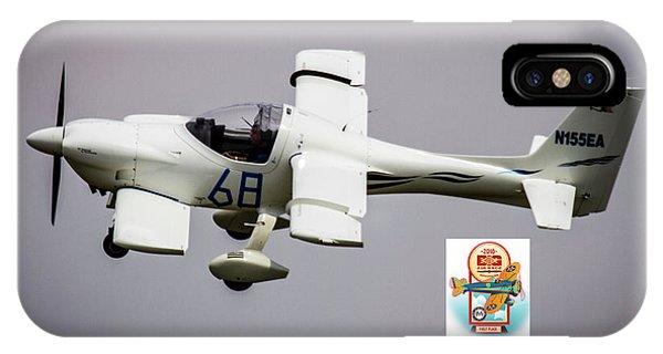 Big Muddy Air Race Number 68 IPhone Case