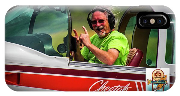 Big Muddy Air Race Number 73 IPhone Case