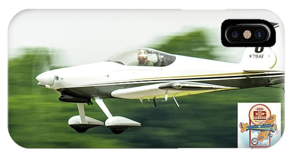 Big Muddy Air Race Number 8 IPhone Case