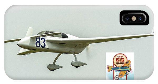 Big Muddy Air Race Number 83 IPhone Case