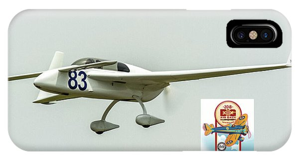 Big Muddy Air Race Number 83 IPhone Case