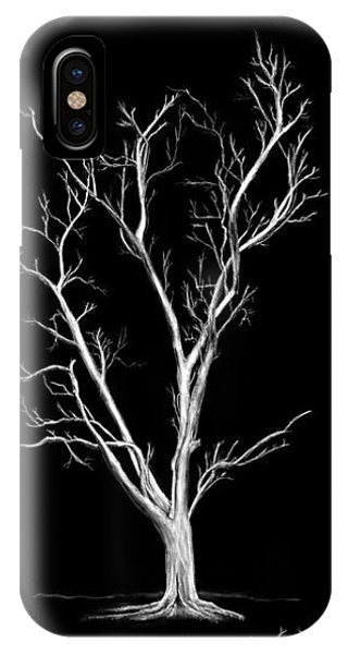 Big Old Leafless Tree IPhone Case