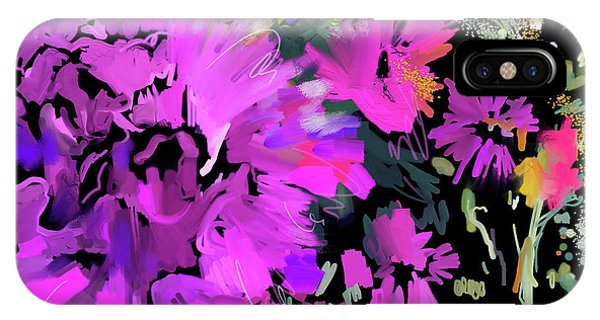 Big Pink Flower IPhone Case