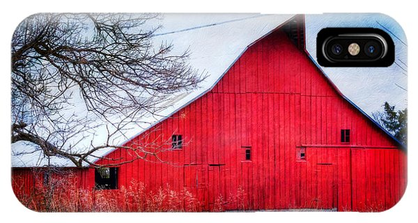 Big Red Barn IPhone Case
