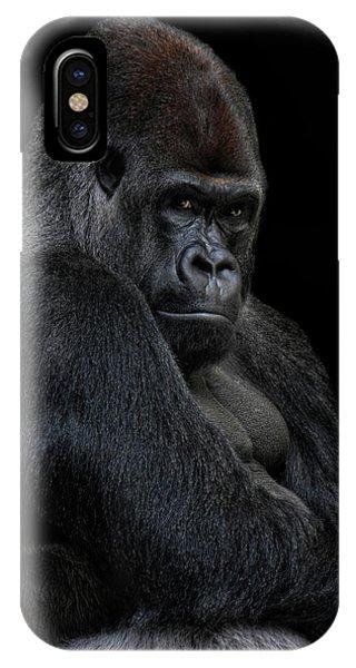 Big Silverback IPhone Case