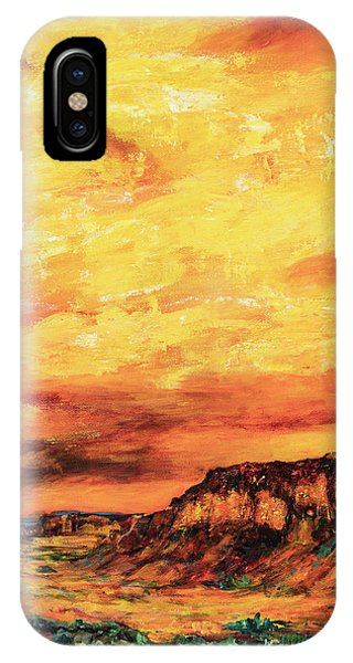 Big Sky At Capital Reef IPhone Case