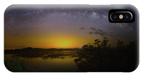 Big Sky Galaxy IPhone Case