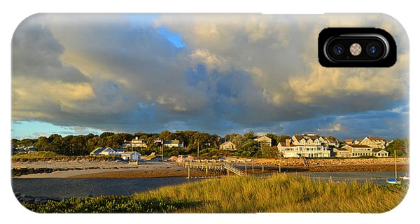 Big Sky Over Sesuit Harbor IPhone Case