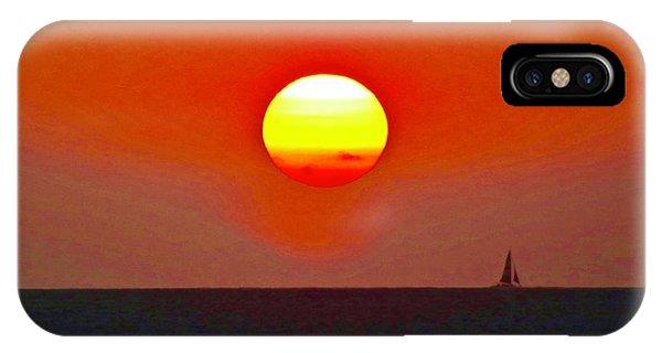 Big Sun IPhone Case