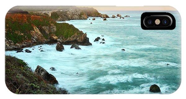 Pacific Ocean iPhone Case - Big Sur Sunrise by Jamie Pham