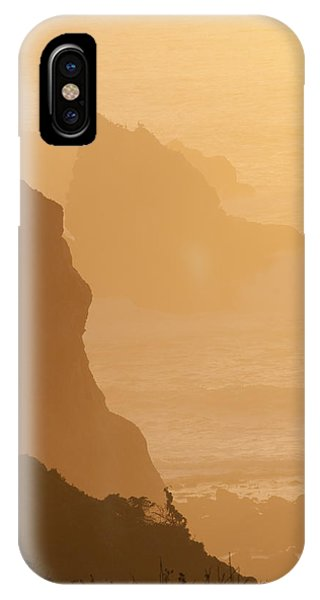 Big Sur Sunset IPhone Case