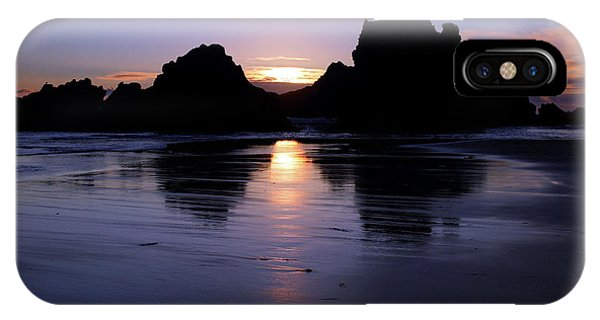 Big Sur Sunset Phone Case by Pierre Leclerc Photography